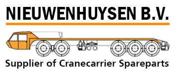 Suppliers of cranecarrier spareparts - Nieuwenhuysen